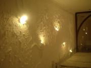 Бригада, ремонт квартир. Отделка стен фактурной штукатуркой придает им загадочный, неповторимый вид.