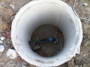 Бурение скважин в Чеховском районе. В обустройство скважины входит установка скваженного насоса, кессона, систем автоматики и прокладка трубопровода до дома.