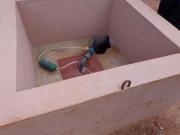 Бурение скважин в помещении. Бурение скважин в помещении целесообразно выполнять, когда строится фундамент дома. Оборудование скважины в помещении должно предусматривать удобство обслуживания.