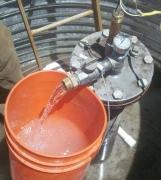 Бурение скважин в Ступинском районе. Вода в этом районе очень жесткая, содержит марганец и другие вещества. Необходима очистка.