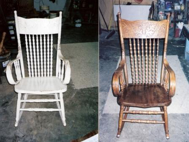 Цены на реставрацию мебели.Стул до и после реставрации