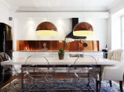 Делаю ремонт квартир. Большая кухня может быть очень стильной и сочетать зоны приготовления пищи и столовой.