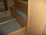 Демонтаж мебели. Демонтаж большой стенки с выдвижной кроватью.