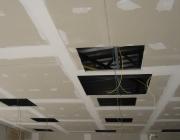 Электрик Москва. Монтаж электрики под гипсокатронным потолком.