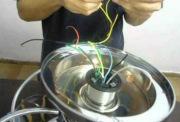 Электрик стоимость. Подключение электровентилятора.