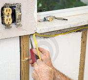 Электромонтаж. По Вашему желанию мы быстро поменяем электропроводку, выключатели и розетки.