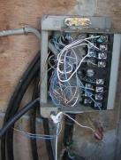 Электромонтажные работы. Подключение электрического щитка в дачном доме.