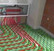 Электромонтажные работы. Теплый пол приобретает все большую популярность и создает в квартире тепло и уют.