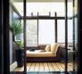 Евроремонт фото. Балкон, оформленный в тропическом стиле.