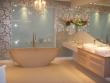 Евроремонт фото. Удивительная, изящная ванная комната, завораживает своей красотой.
