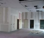 Евроремонт офисов. Офис до ремонта. Подготовлены стены для дальнейшей отделки. Офис с качественным евроремонтом – один из признаков успешности и высокого статуса компании.