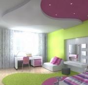 Eвроремонт потолка. Красивый потолок при евроремонте может разделять пространство на зоны и радовать глаз.
