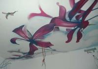 Eвроремонт потолка. Роспись потолка - это полет фантазии художника.