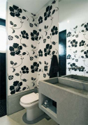 Евроремонт туалета. Современный рынок отделочных и строительных материалов позволяет воплотить любую дизайнерскую идею по разумной цене.