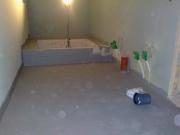 Евроремонт ванной комнаты. Тщательное выравнивание поверхностей пола, стен, потолка - обязательная работа перед окончательной отделкой ванной комнаты.