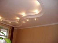 Eвроремонт зала. Красивый потолок в зале - это не только правильное освещение, это особая изюминка в интерьере.