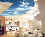 Евроремонт. Красивый потолок - важная часть при дизайне квартиры.