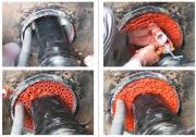 Герметизация канализации. Герметизация канализации кольцевыми уплотнителями и герметиком.