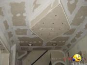 Качественный ремонт квартир. Наши мастера и электрики сделают потолок красиво и качественно.