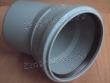 отвод 110x30, может применяться при ремонте канализации и при установке унитаза в качестве дополнительного соединения