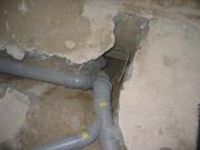 Капитальный ремонт канализации. Зачастую, во время ремонта, производиться замена чугунных канализационных труб на пластиковые трубопроводы.