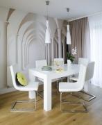 Капитальный ремонт квартир под ключ. Объемная отделка стен с эффектом 3D.