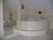 Компании по ремонту квартир. Евроремонт в ванной комнате.