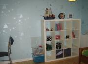 Косметический ремонт квартир под ключ. Детская комната после косметического ремонта стала светлой, функциональной и стильной.