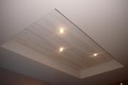 Крепление ламината. Ламинат из-за легкости монтажа может быть прекрасным украшением потолка.