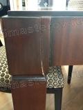 Реставрация мебели мастер. Треснувшая ножка стола из массива дерева. Фото мастера-реставратора Николая Ш.