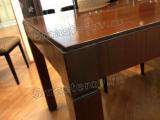 Реставрация мебели мастер. Деревянный стол после реставрации. Работа мастера-реставратора Николая Ш.