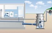 Монтаж автономной канализации. Схема монтажа автономной канализации с системой очистки сточных вод.
