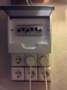 Монтаж электрощита.  Установка электрощита является гарантией безопасности.