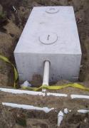 Монтаж канализации на даче. Локальная система очистки сточных вод.