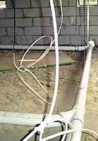 Монтаж канализации в доме. Объединение коллекторных сетей.