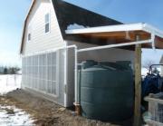 Монтаж ливневой канализации. Сбор дождевой воды для бытовых нужд в резервуар.