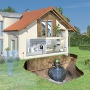 Монтаж наружной канализации. При монтаже наружной канализации в частном доме или коттедже необходимо обязательно предусмотреть очистной резервуар для стоков.