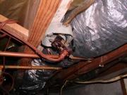 Монтаж проводки в доме. Монтаж электропроводки в деревянном доме лучше выполнять открытым способом.