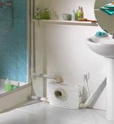 Монтаж sfa. Насосы sfa используют там, где есть трудности с оттоком канализационных вод.
