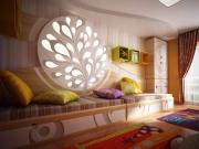 Нужен ремонт квартиры. Функциональный дизайн комнаты в африканском стиле радует красками и оригинальностью.