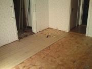 Объявления ремонт квартир. Выравнивание пола и укладка деревянного пола.