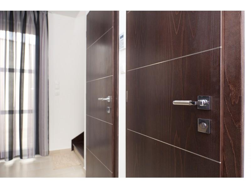 Обшивка межкомнатных дверей ламинатом своими руками 21