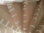 Отделка лестницы ламинатом. Бюджетная альтернатива натуральному дереву. Работа мастера Красимира К.