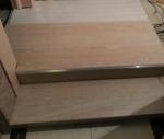 Отделка лестницы ламинатом. Промежуточная стадия отделки лестницы. Работа мастера Красимира К.