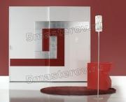 Отделка шкафов купе. Отделка шкафа-купе металлическими пластинами - для людей неординарных и креативных.