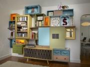 Отделка шкафов. Отделка шкафчика для детской комнаты может быть очень разнообразна.