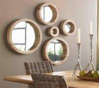 Отделка зеркалом. Зеркала используются для создания современного дизайна.