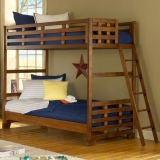 Переделать кровать. Двухярусная кровать для детского лагеря до переделки.