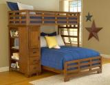 Переделать кровать. Кровать стала более функциональной - появился шкаф для вещей.