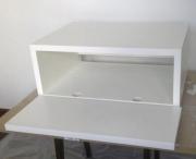 Петли мебельные, установка. Высверливание отверстий под чашки мебельных петель- начальный этап установки петель.